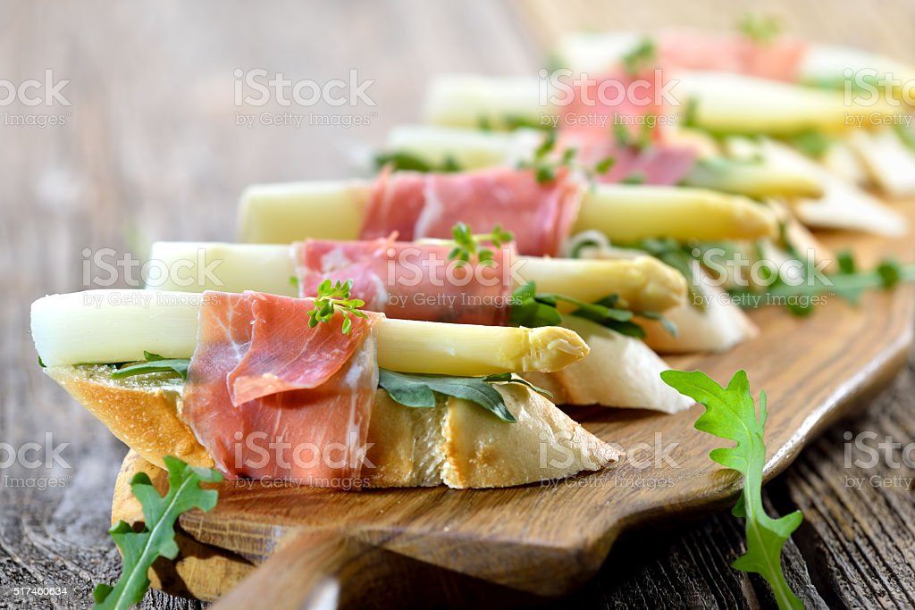 Amuse-gueules et d'asperges - Photo