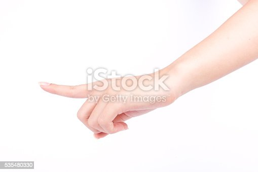 istock finger hand symbols isolated the concept touch screen digital idea 535480330