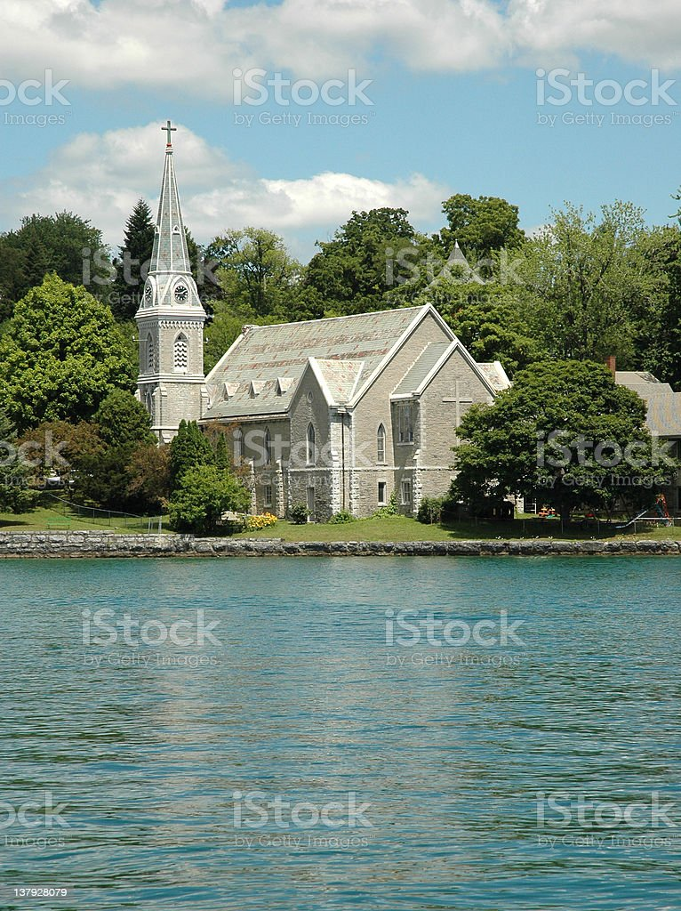 Finger Lakes Church stock photo