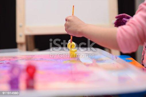 154371635istockphoto Finger painting 911914560