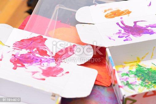 154371635istockphoto Finger painting 911914610