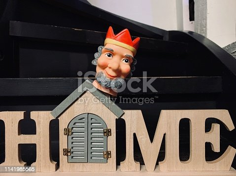 istock Finger punch puppet, my home, my castle 1141985565