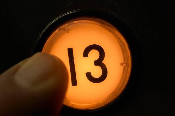 lucky 13 - number 13 stock-fotos und bilder