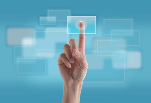 Finger Touching Transparent Digital Touch Screen