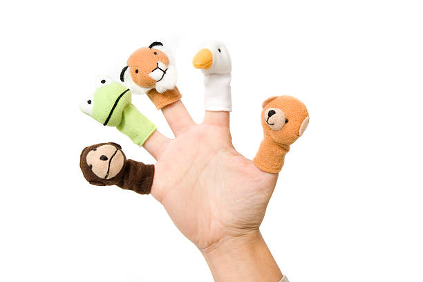 Finger toys CLICK HERE for other similar images!  puppet stock pictures, royalty-free photos & images