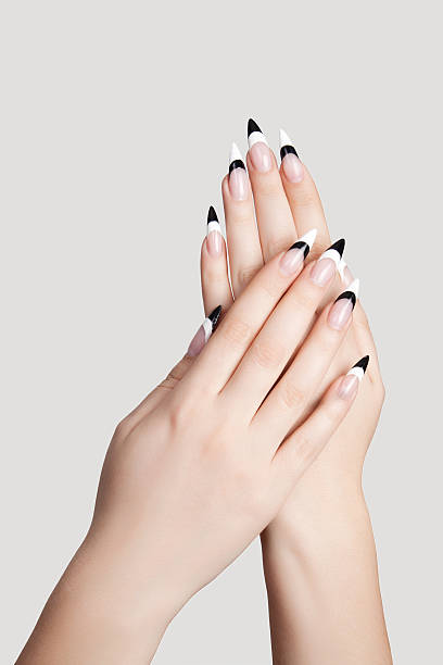 fingernails - sharp stock photos and pictures