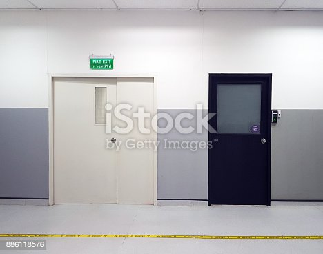 istock fingerprint and access control in a office building 886118576