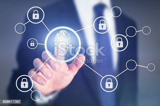 istock fingerprint authorisation access concept, data information security 638917262