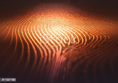 istock Fingerprint Binary Code Labyrinth 811037160