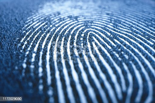 istock Fingerprint Biometric 3D Digital Data Security 1172029030