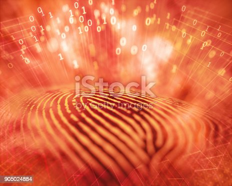 istock Fingerprint Hacker Access 905024884