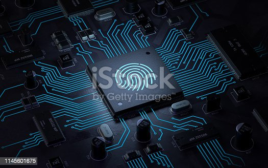 803260946 istock photo Fingerprint login 1145601675
