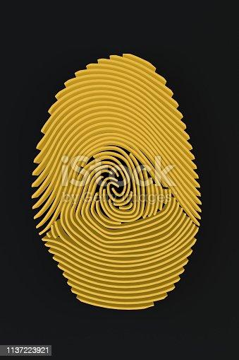 671053272 istock photo 3D Fingerprint Maze 1137223921