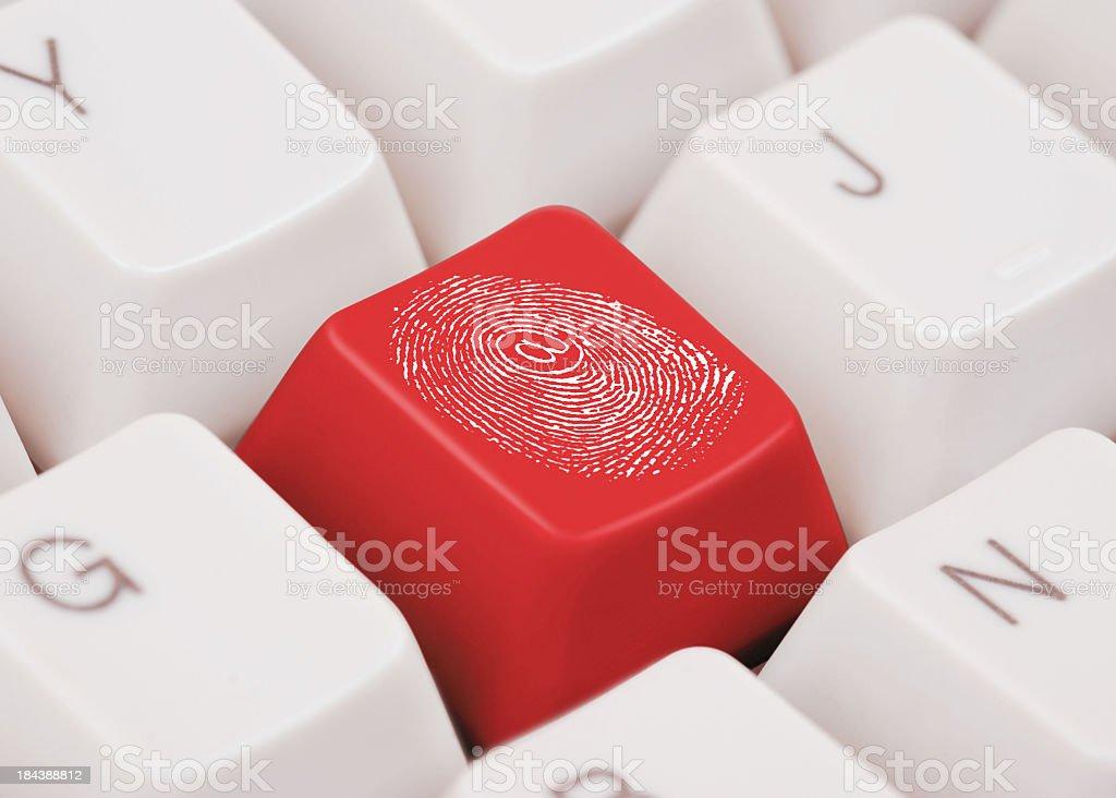 Impressão Digital - foto de acervo