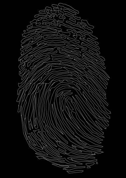 der Fingerabdruck – Foto