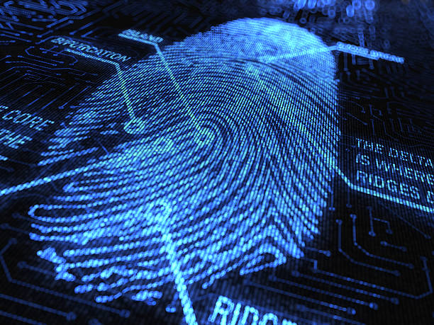 fingerprint - stealing crime stock photos and pictures