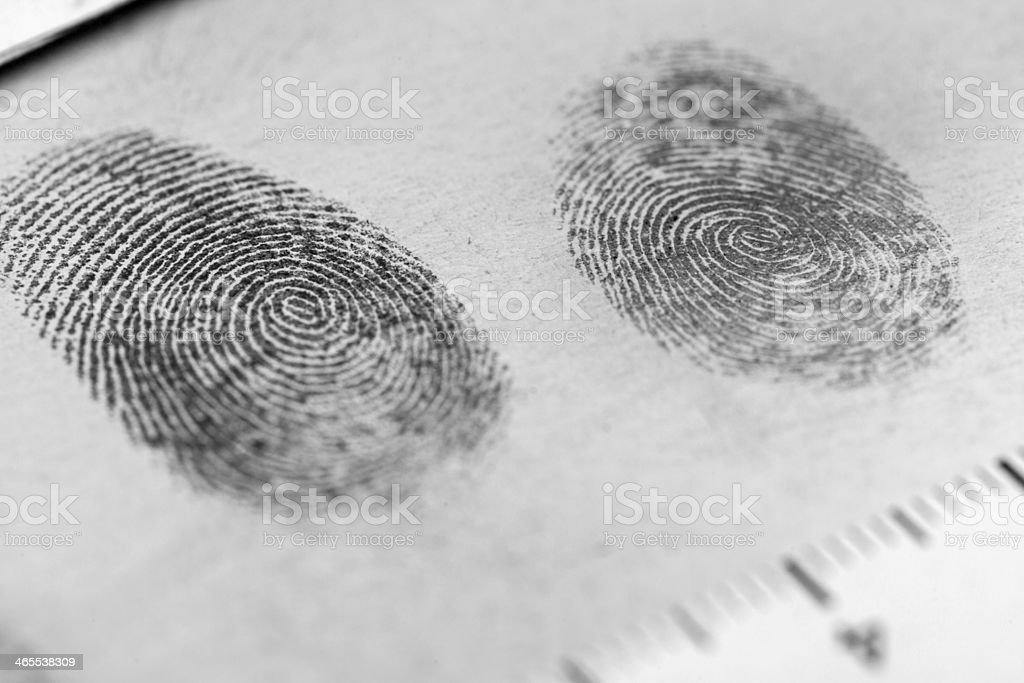 Fingerabdruck – Foto