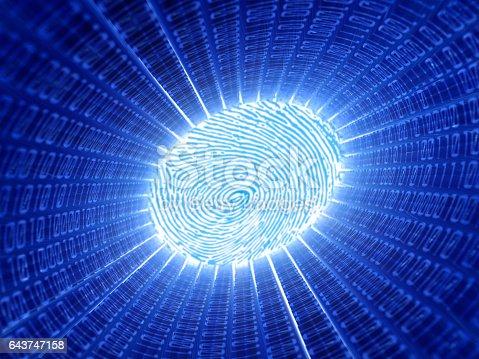 671053272 istock photo fingerprint 643747158