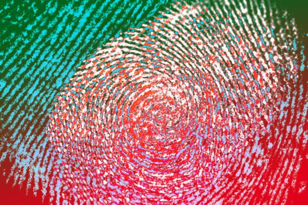 指紋 - id盗難 ストックフォトと画像