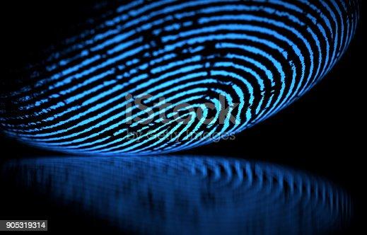 istock Fingerprint 905319314