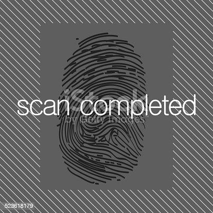 671053272 istock photo Fingerprint scan 523618179