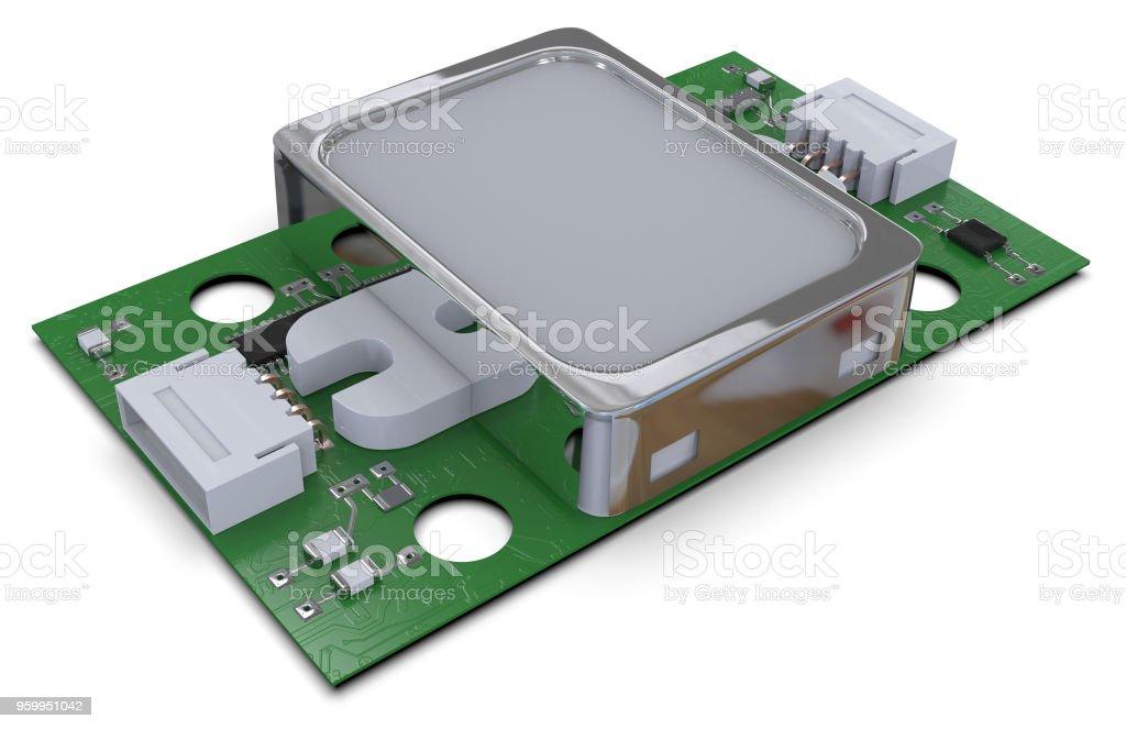 Fingerabdruck-Sensor-Modul – Foto