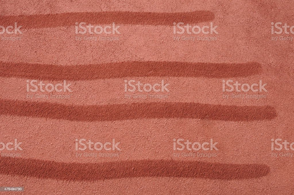 fingerprints on suede leather stock photo