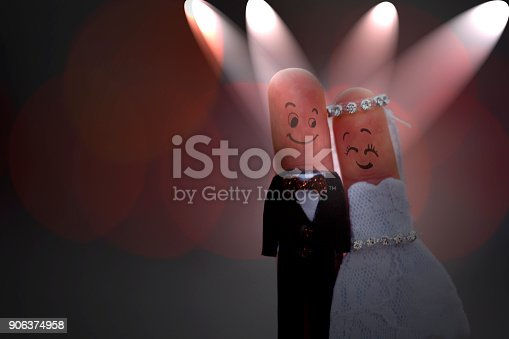istock Fingers art of  Wedding Concepts 906374958