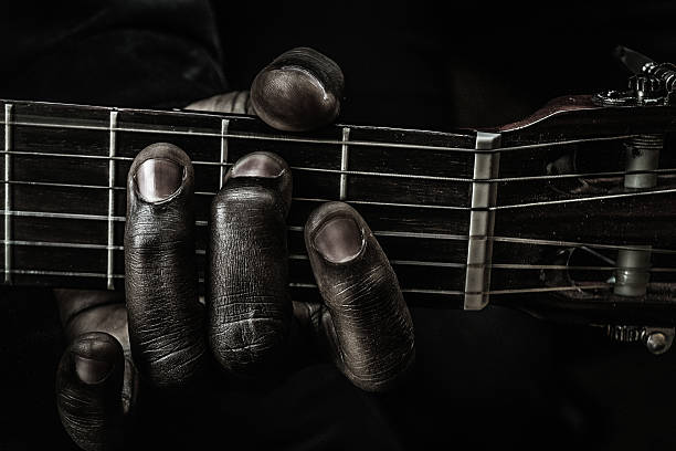 finger der blues - blues stock-fotos und bilder