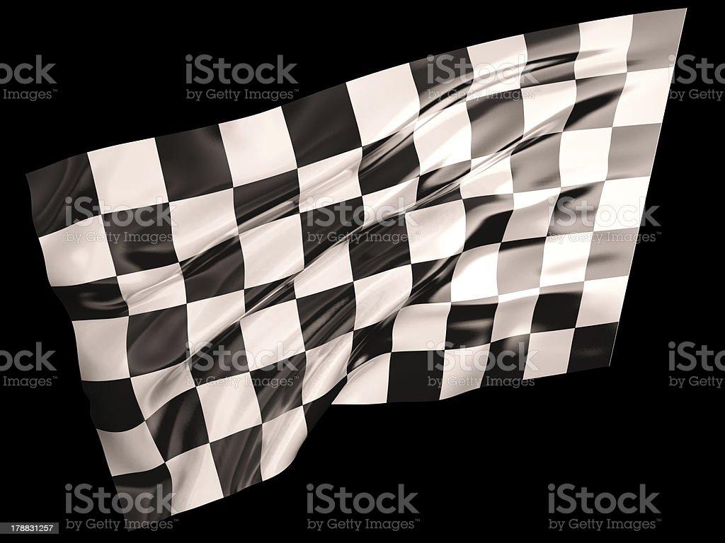 Finish flag royalty-free stock photo