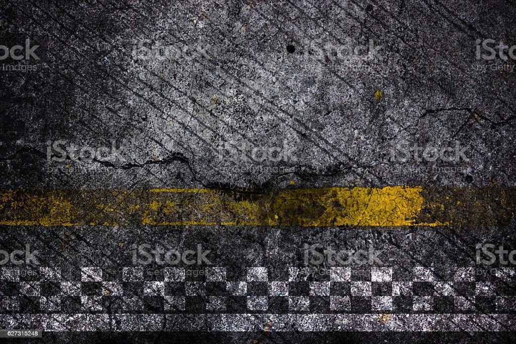 Foto De Finish Line Of Racing Road Background E Mais Fotos De Stock De Acabando Istock