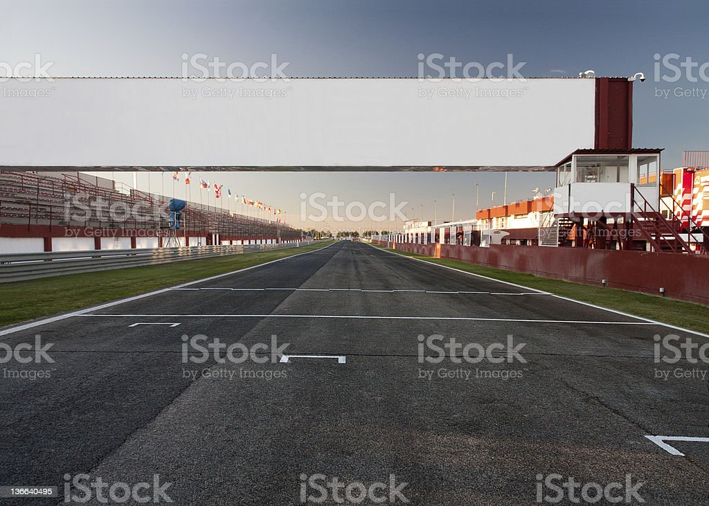 finish line royalty-free stock photo