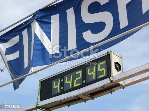 A timer for running marathons, triathalons, etc. Thanks for checking it out!