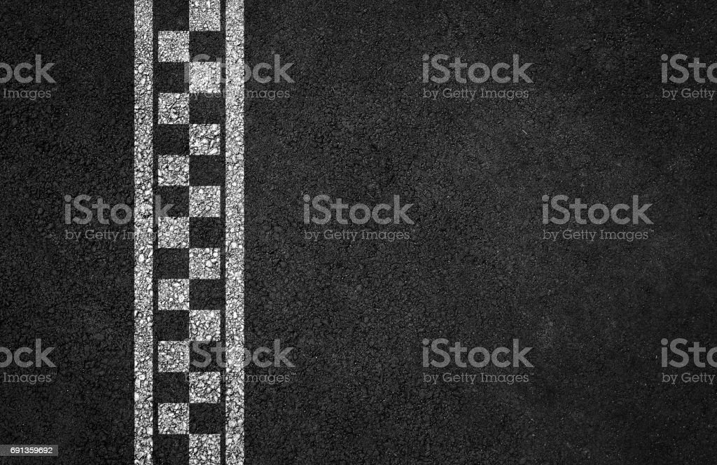 Finish line racing background stock photo