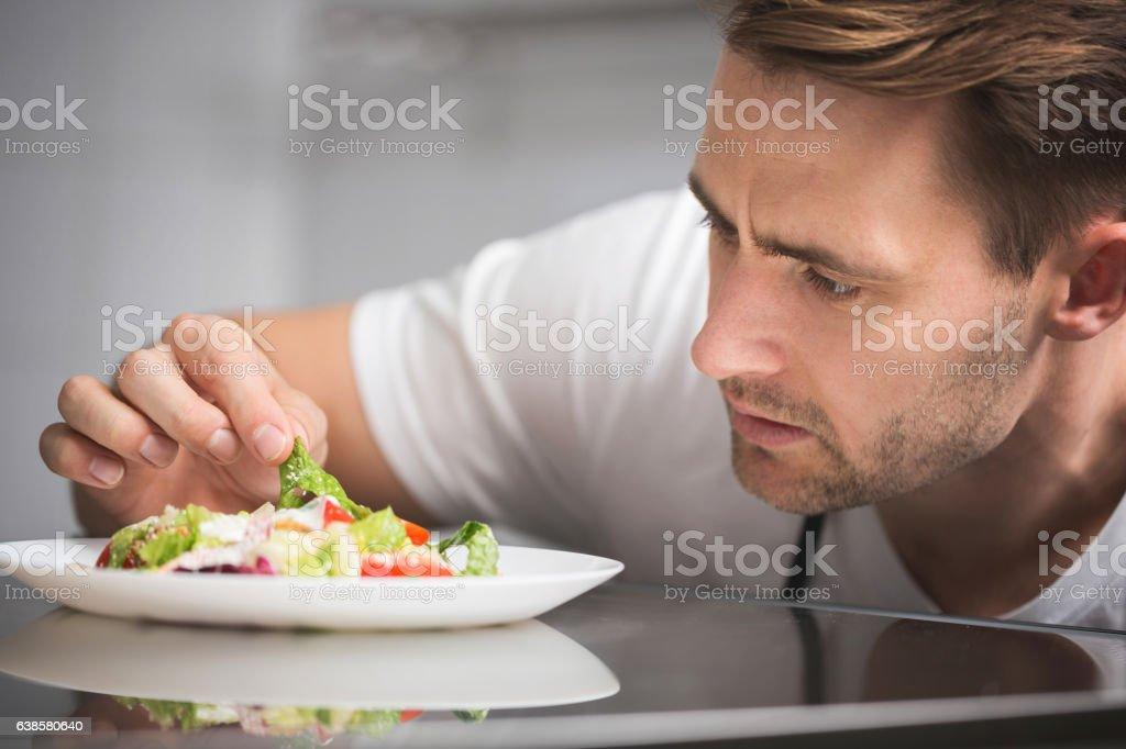 Finishing delicious salad - Photo