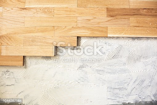 922081754istockphoto Finishing materials applied over a floor structure 1044257164