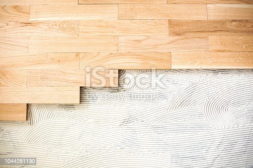 922081754istockphoto Finishing materials applied over a floor structure 1044281130