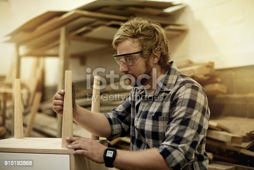 915192732 istock photo Finishing of his latest project 915193868