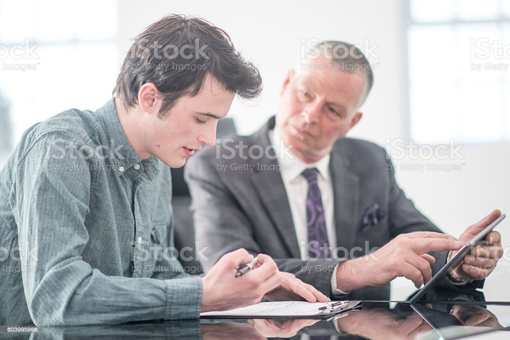 Finishing the Tasks on a List stock photo