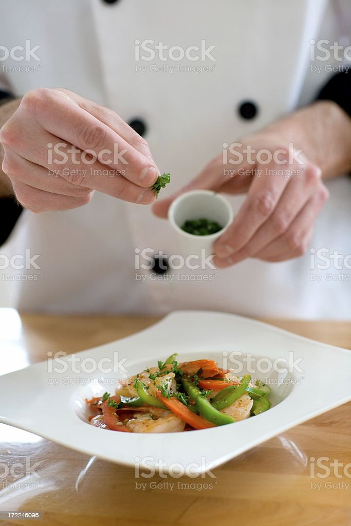 Finishing Touches stock photo