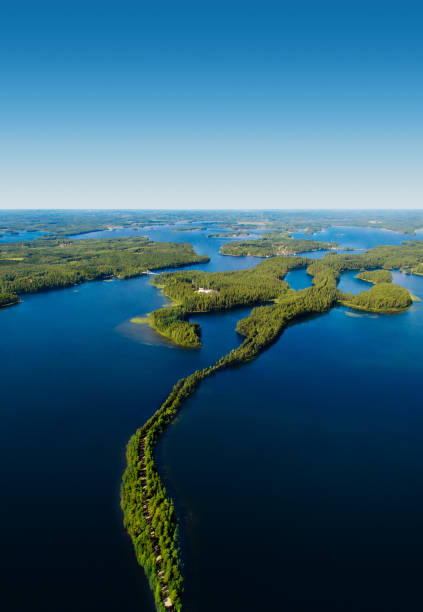 Finnland nationale Landschaft – Foto