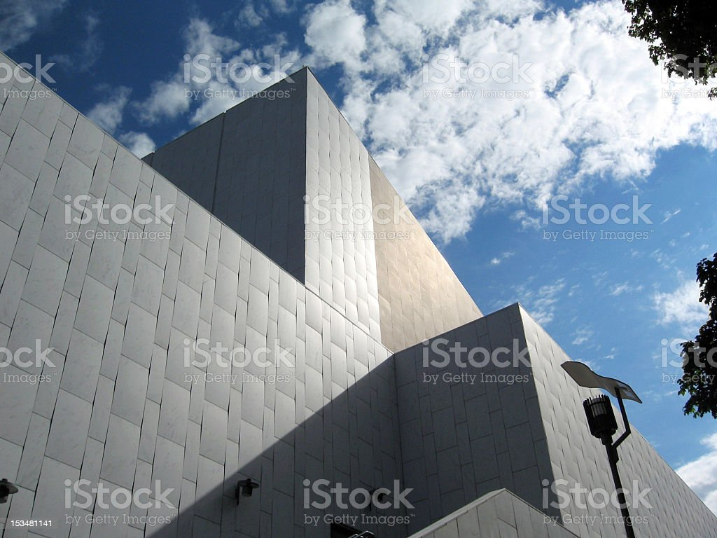 Finlandia Hall royalty-free stock photo