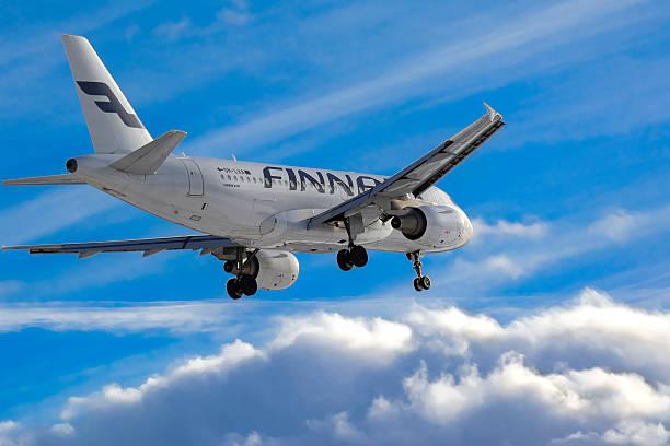 Finnair Airbus A319 stock photo