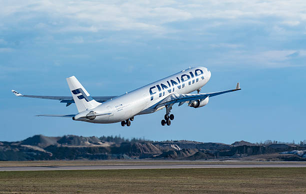 Finnair Airbus A330-300 stock photo