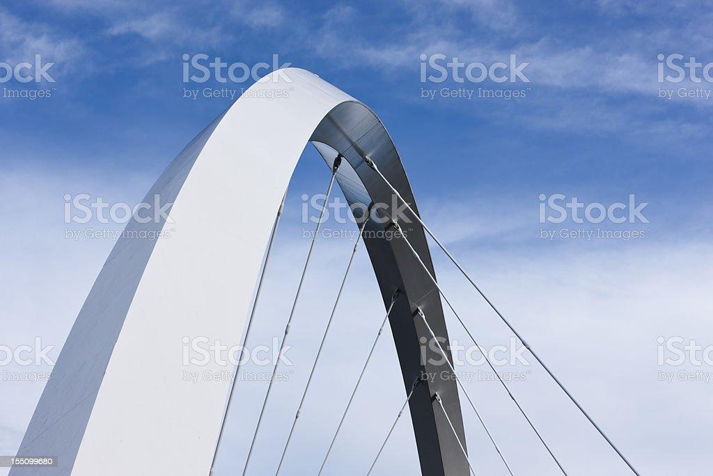 Finnieston Bridge Arc stock photo