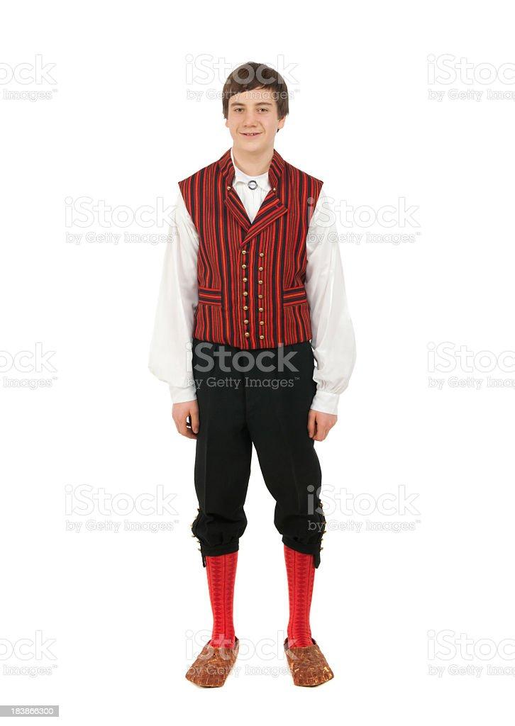 Finnish boy royalty-free stock photo