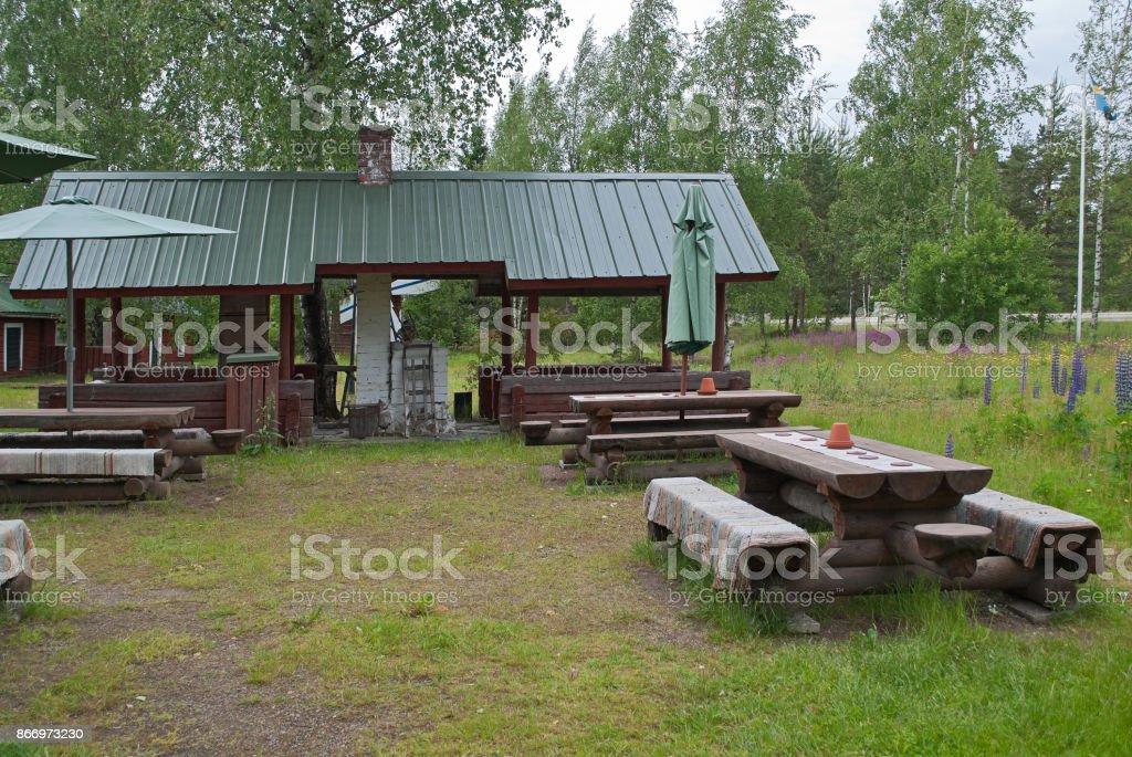 Finnish metochion. stock photo