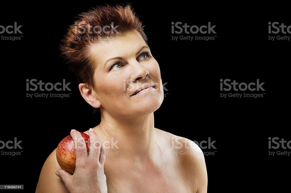 finnish woman royalty-free stock photo