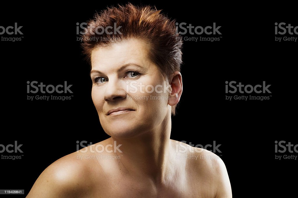 finnish woman royalty-free stock photo