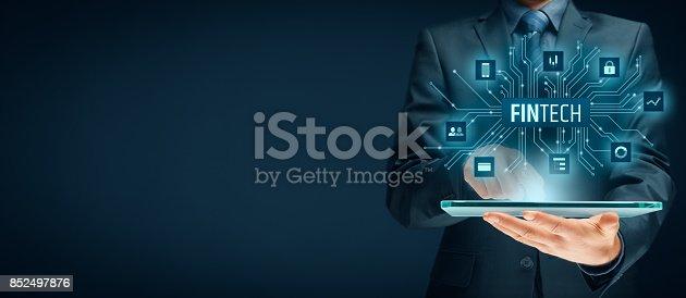 istock Fintech concept 852497876